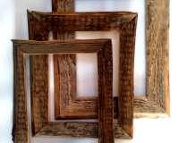 Рамки из старого дерева